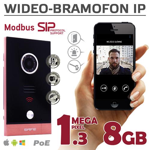 Wideodomofony IP marki Safe